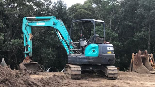 5-tonne-Kobelco-Excavator